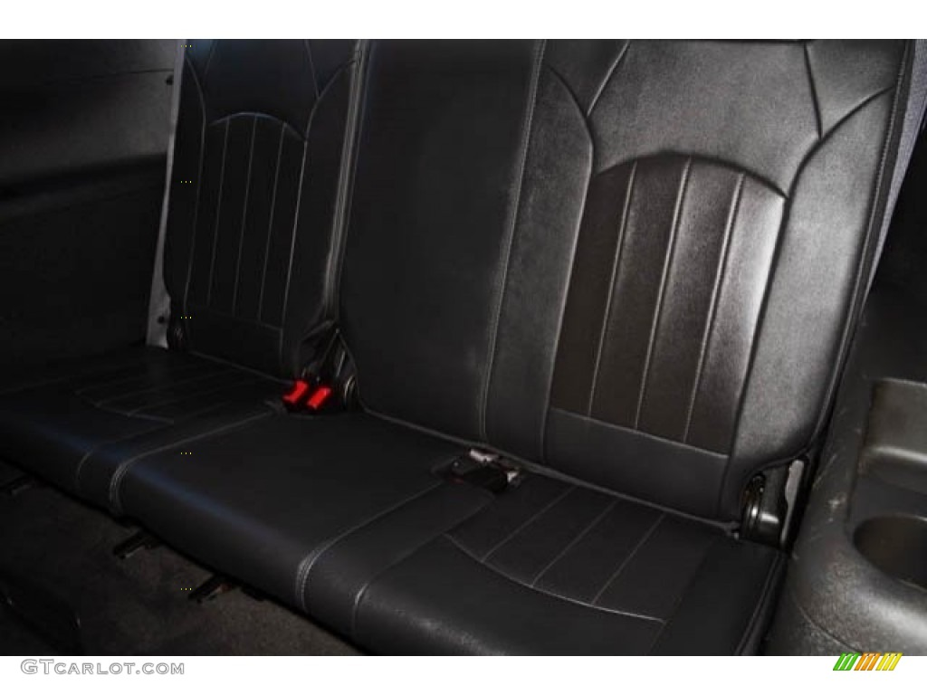 2015 Enclave Leather - Carbon Black Metallic / Ebony/Ebony photo #18