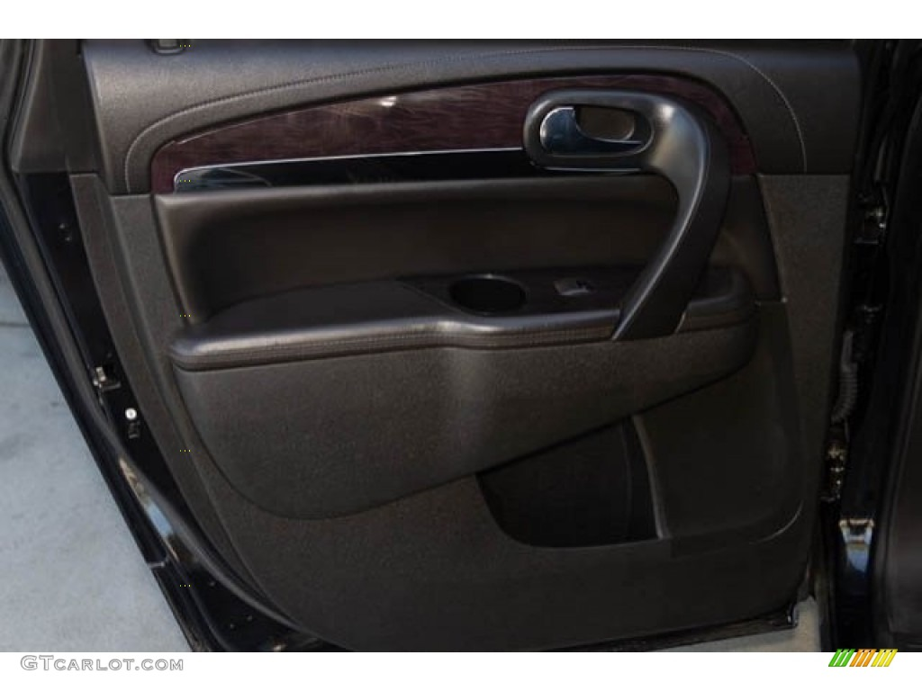 2015 Enclave Leather - Carbon Black Metallic / Ebony/Ebony photo #32