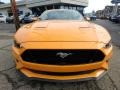 2018 Orange Fury Ford Mustang GT Premium Fastback  photo #7