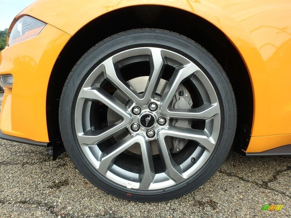 2018 Mustang GT Premium Fastback - Orange Fury / Ebony photo #10