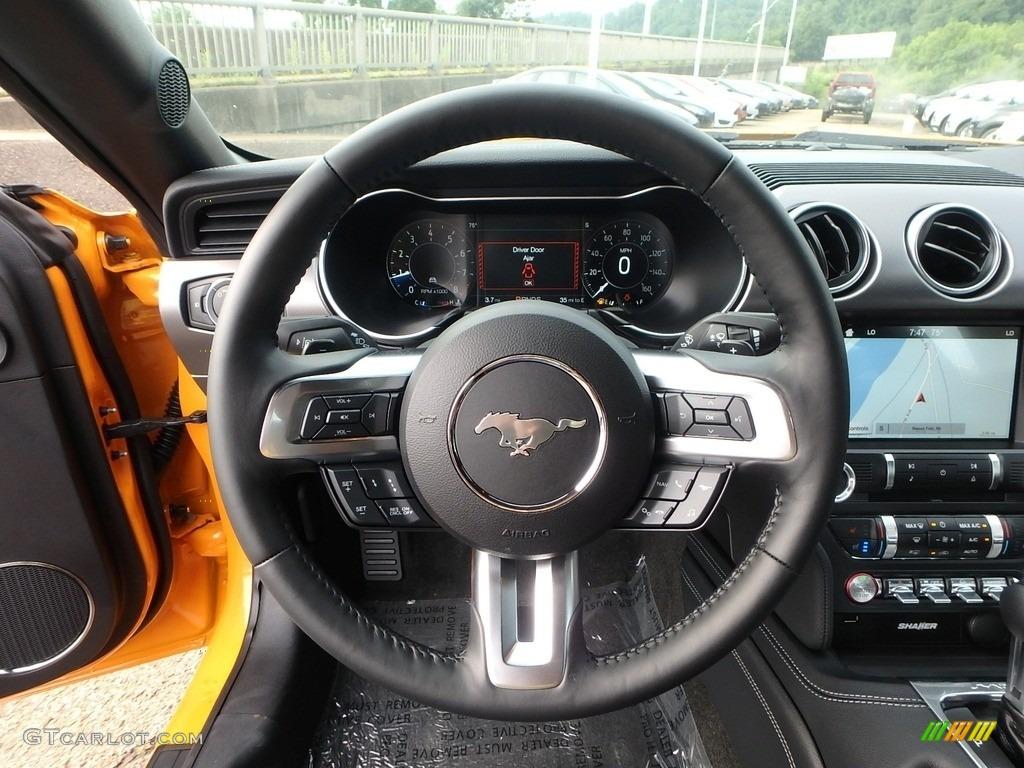 2018 Mustang GT Premium Fastback - Orange Fury / Ebony photo #16