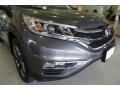 2015 Modern Steel Metallic Honda CR-V Touring AWD  photo #12