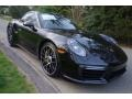 Black 2018 Porsche 911 Turbo S Coupe