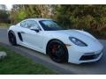 White - 718 Cayman GTS Photo No. 1