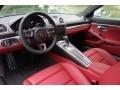2018 718 Cayman GTS Black/Bordeaux Red Interior