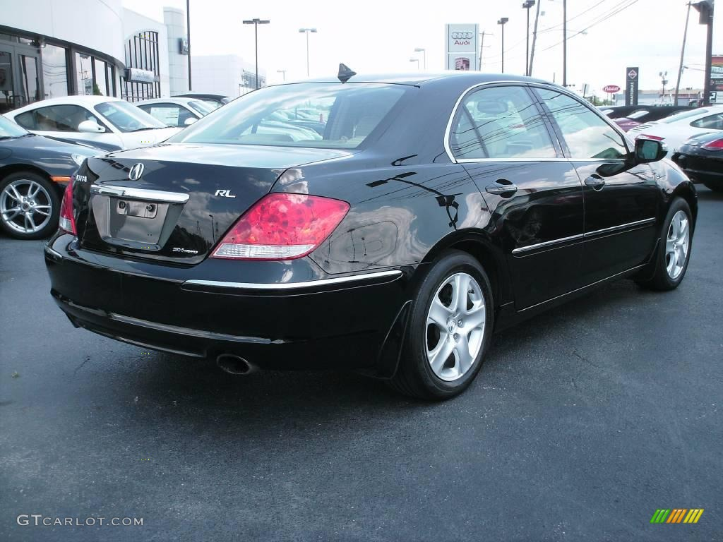 2005 nighthawk black pearl acura rl 3 5 awd sedan 12790756 photo 8 car color. Black Bedroom Furniture Sets. Home Design Ideas