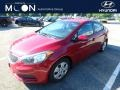 Crimson Red 2015 Kia Forte LX