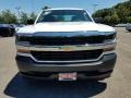 2018 Summit White Chevrolet Silverado 1500 WT Double Cab  photo #2