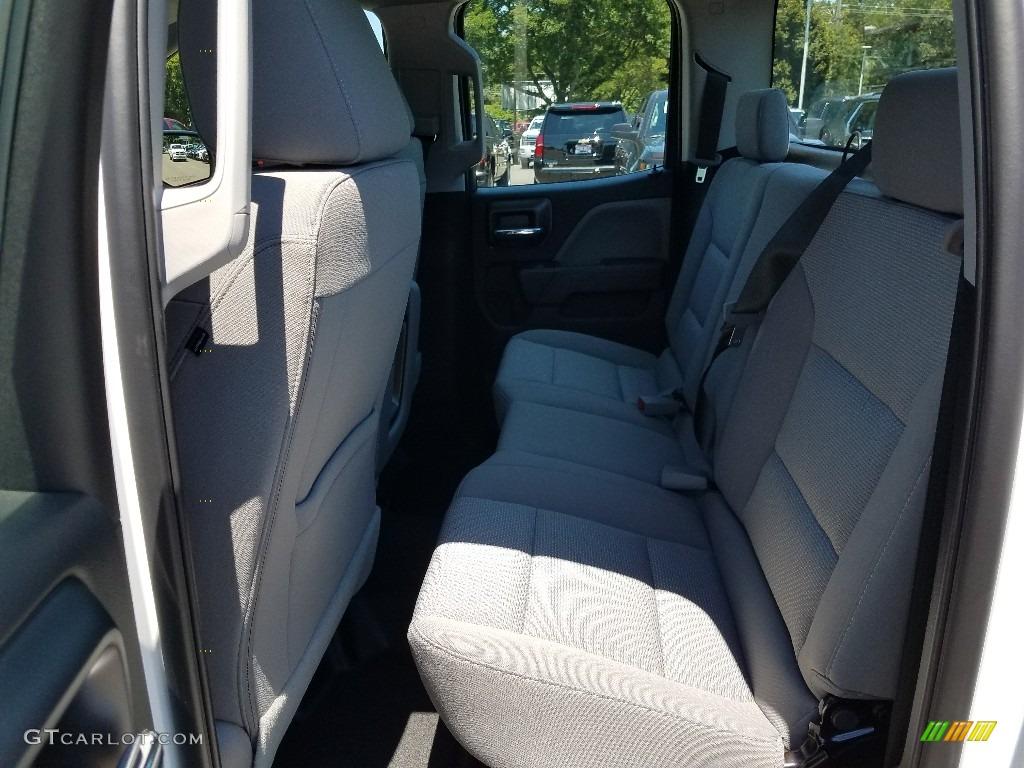 2018 Silverado 1500 WT Double Cab - Summit White / Dark Ash/Jet Black photo #6