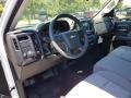 2018 Summit White Chevrolet Silverado 1500 WT Double Cab  photo #7