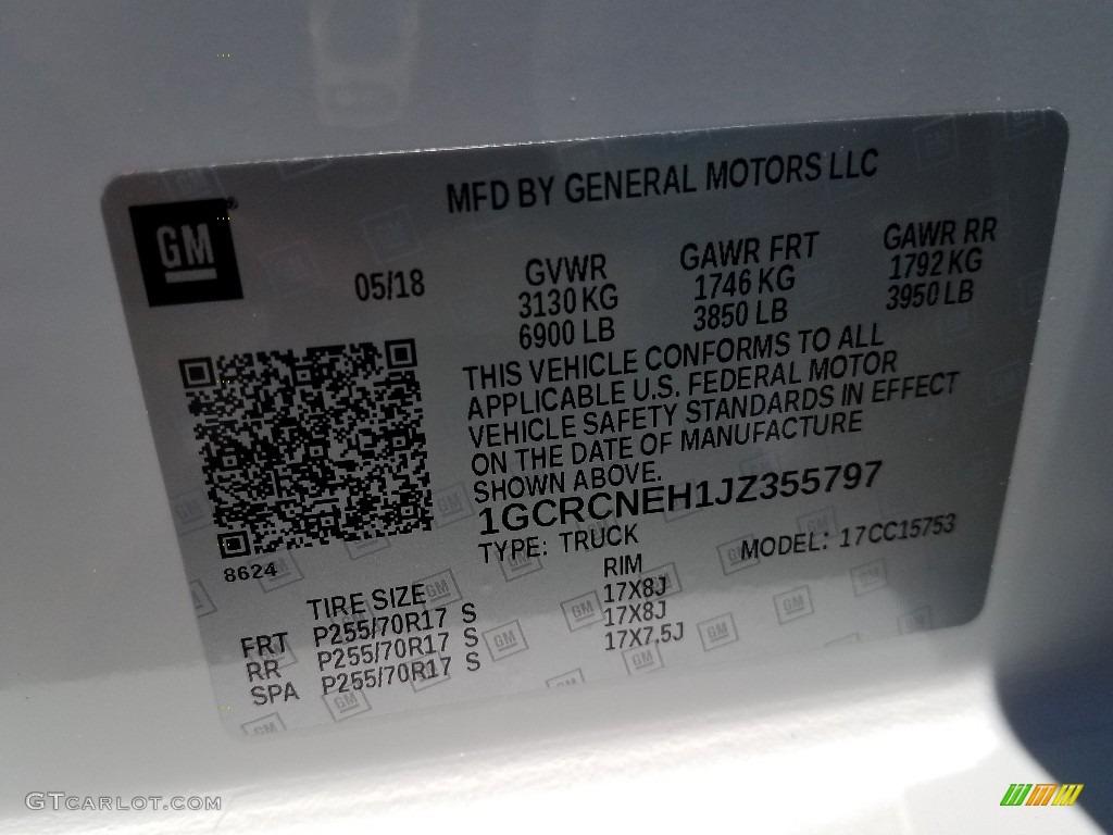 2018 Silverado 1500 WT Double Cab - Summit White / Dark Ash/Jet Black photo #9