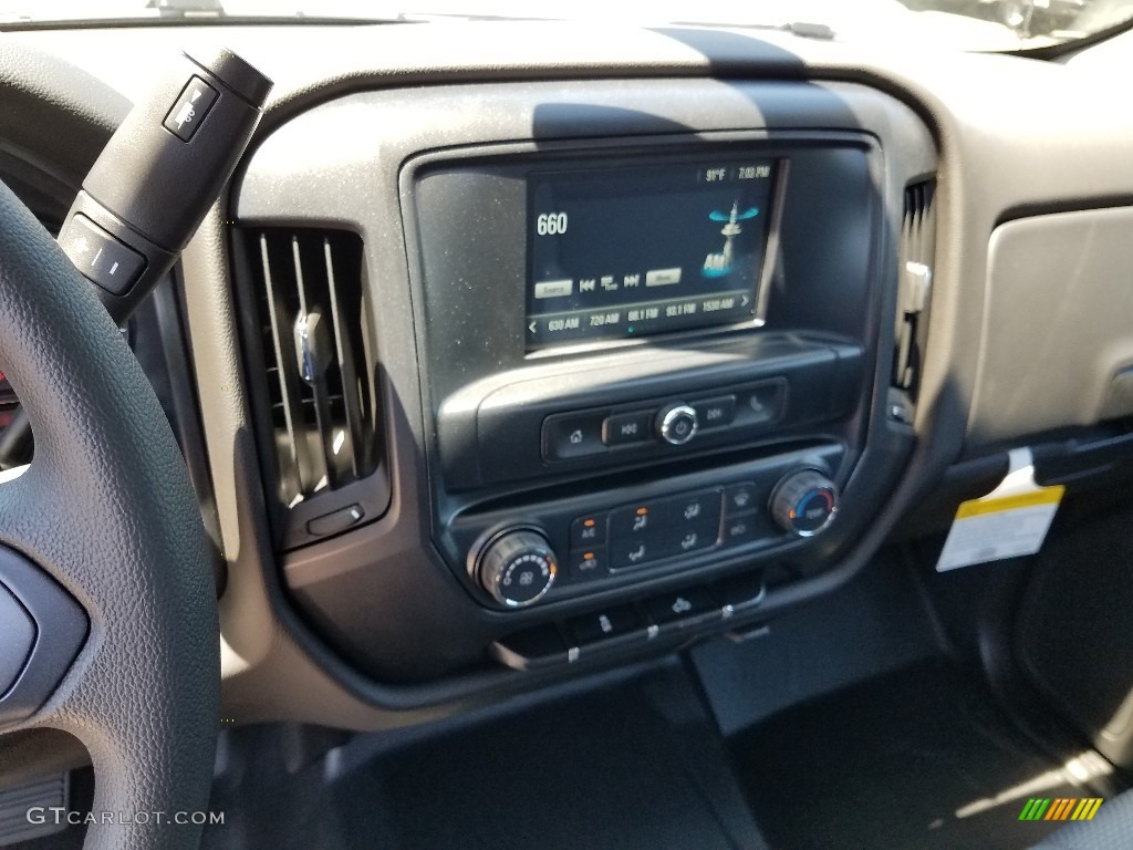 2018 Silverado 1500 WT Double Cab - Summit White / Dark Ash/Jet Black photo #10