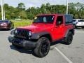 Firecracker Red 2016 Jeep Wrangler Gallery