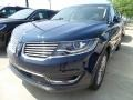 Blue Diamond Metallic 2018 Lincoln MKX Reserve AWD