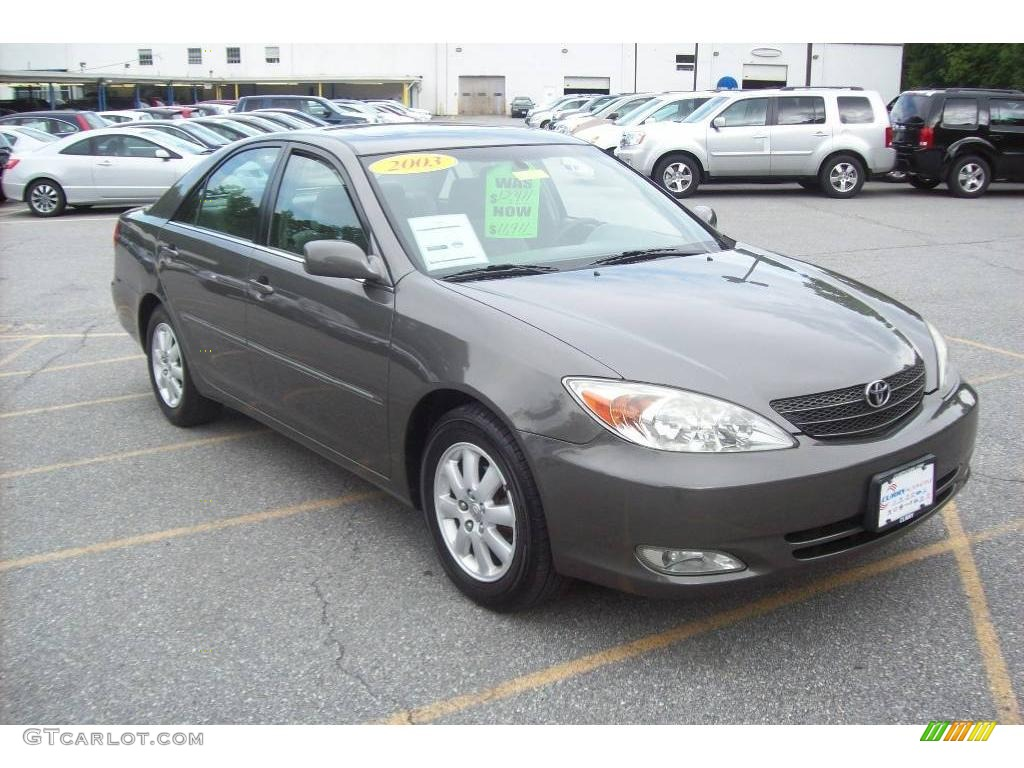 2003 phantom gray pearl toyota camry xle 12811371. Black Bedroom Furniture Sets. Home Design Ideas