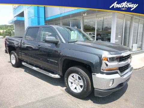 2018 Chevrolet Silverado 1500 WT Crew Cab 4x4 Data, Info and Specs
