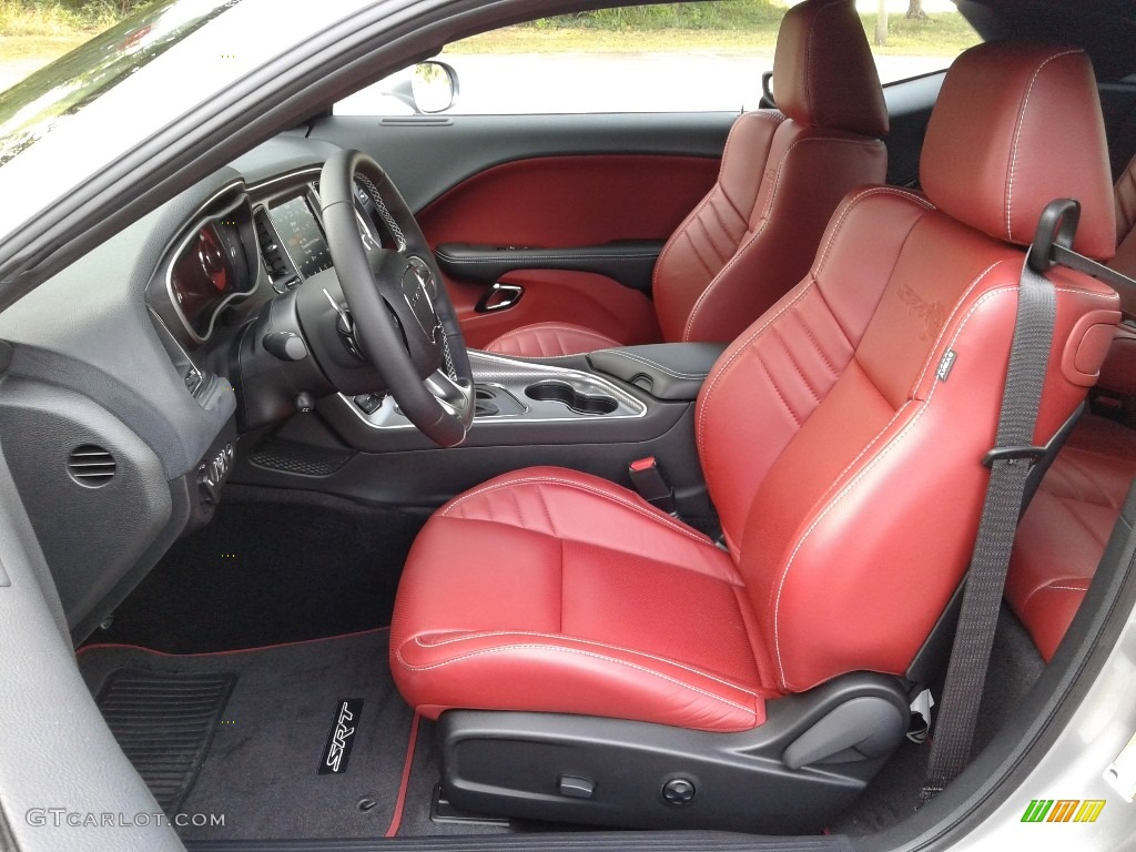 Black Demonic Red Interior 2018 Dodge Challenger Srt Hellcat Widebody Photo 128271188 Gtcarlot Com