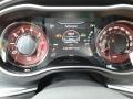 2018 Dodge Challenger Black/Demonic Red Interior Gauges Photo