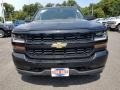 2018 Black Chevrolet Silverado 1500 Custom Double Cab  photo #2
