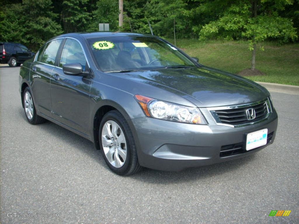 2008 Polished Metal Metallic Honda Accord Ex Sedan