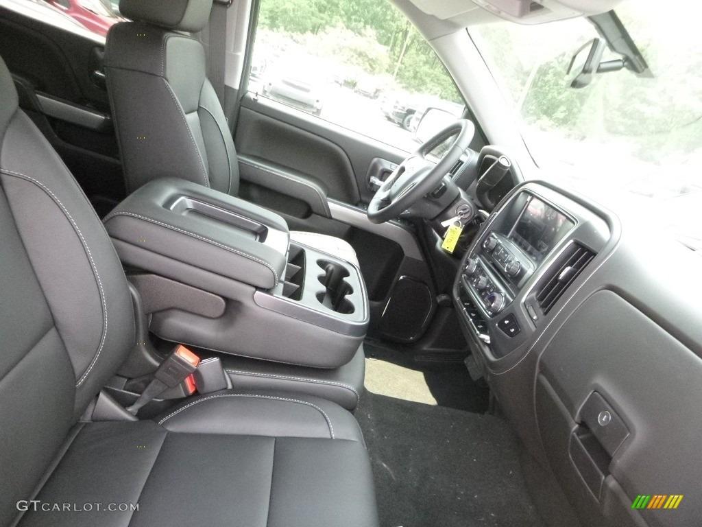 2018 Silverado 1500 LTZ Crew Cab 4x4 - Black / Jet Black photo #9