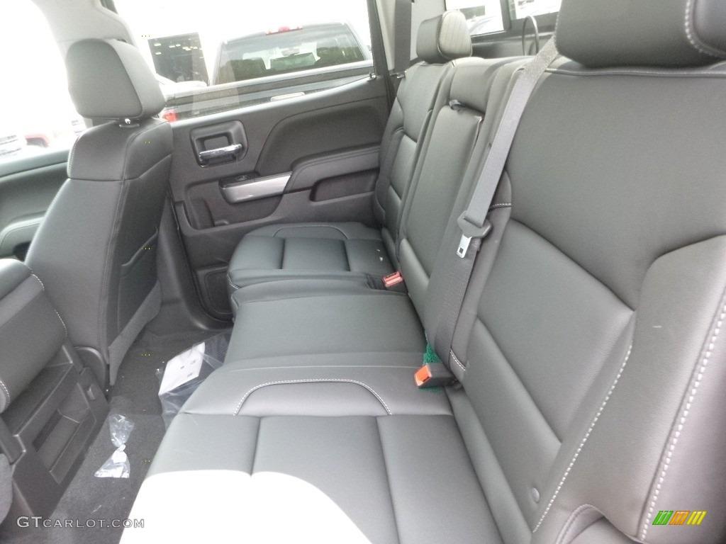 2018 Silverado 1500 LTZ Crew Cab 4x4 - Black / Jet Black photo #12