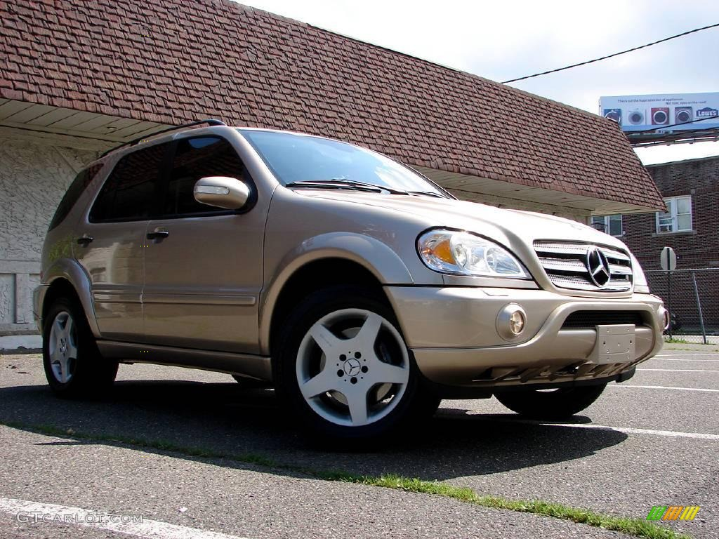 Mercedes ml 320 amg 2002 for Mercedes benz ml 320 2002