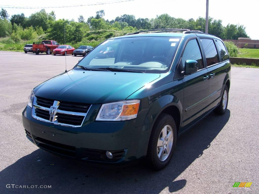 2009 melbourne green pearl dodge grand caravan sxt. Black Bedroom Furniture Sets. Home Design Ideas