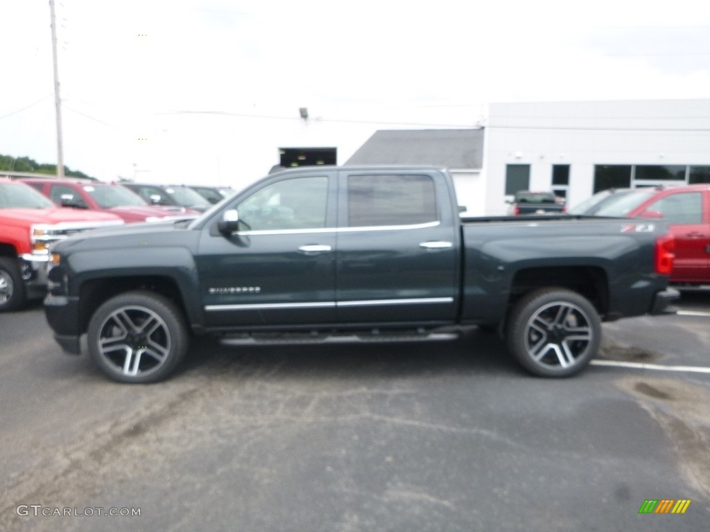 2018 Silverado 1500 LTZ Crew Cab 4x4 - Graphite Metallic / Jet Black photo #2