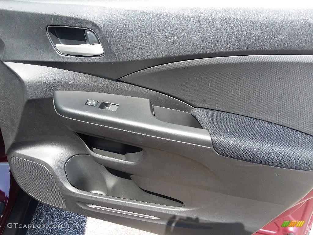 2015 CR-V LX AWD - Basque Red Pearl II / Gray photo #17