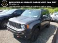 2018 Granite Crystal Metallic Jeep Renegade Trailhawk 4x4  photo #1