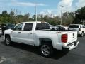 Summit White - Silverado 1500 Custom Crew Cab 4x4 Photo No. 3