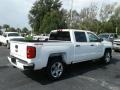 Summit White - Silverado 1500 Custom Crew Cab 4x4 Photo No. 5
