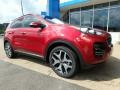 Front 3/4 View of 2019 Sportage SX Turbo AWD