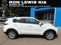 Clear White 2019 Kia Sportage LX AWD
