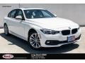 Alpine White 2018 BMW 3 Series 320i Sedan
