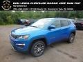 Laser Blue Pearl 2018 Jeep Compass Latitude 4x4