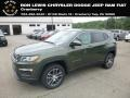 Olive Green Pearl 2018 Jeep Compass Latitude 4x4