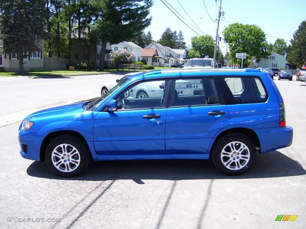 2008 wr blue mica subaru forester 25 x sports 12843476 wr blue mica subaru forester vanachro Images