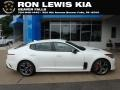 Snow White Pearl 2018 Kia Stinger GT AWD