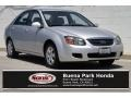 Bright Silver Metallic 2009 Kia Spectra EX Sedan