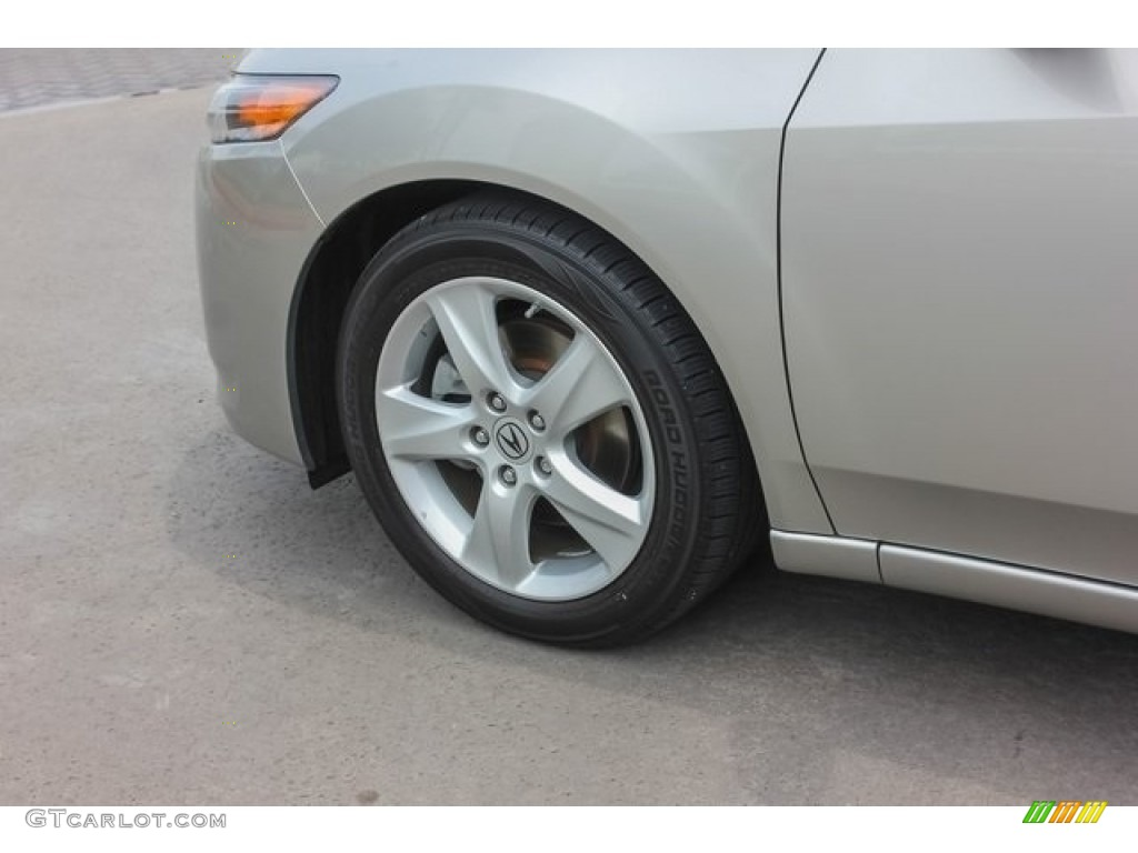 2010 TSX Sedan - Palladium Metallic / Taupe photo #13