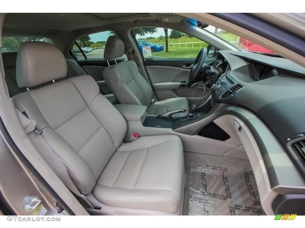 2010 TSX Sedan - Palladium Metallic / Taupe photo #26