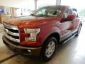 Ruby Red - F150 Lariat SuperCrew 4x4 Photo No. 4