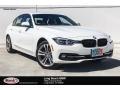 Alpine White 2018 BMW 3 Series 330i Sedan