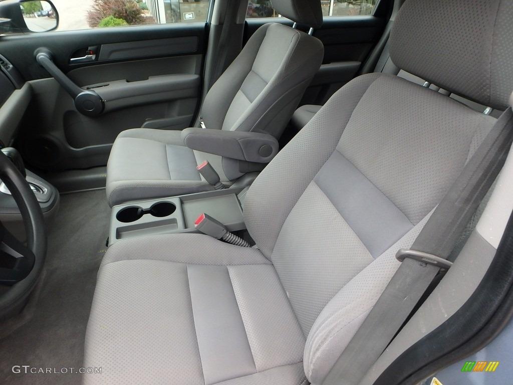 2009 CR-V LX 4WD - Glacier Blue Metallic / Gray photo #16