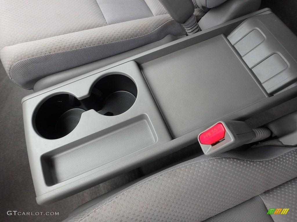 2009 CR-V LX 4WD - Glacier Blue Metallic / Gray photo #21
