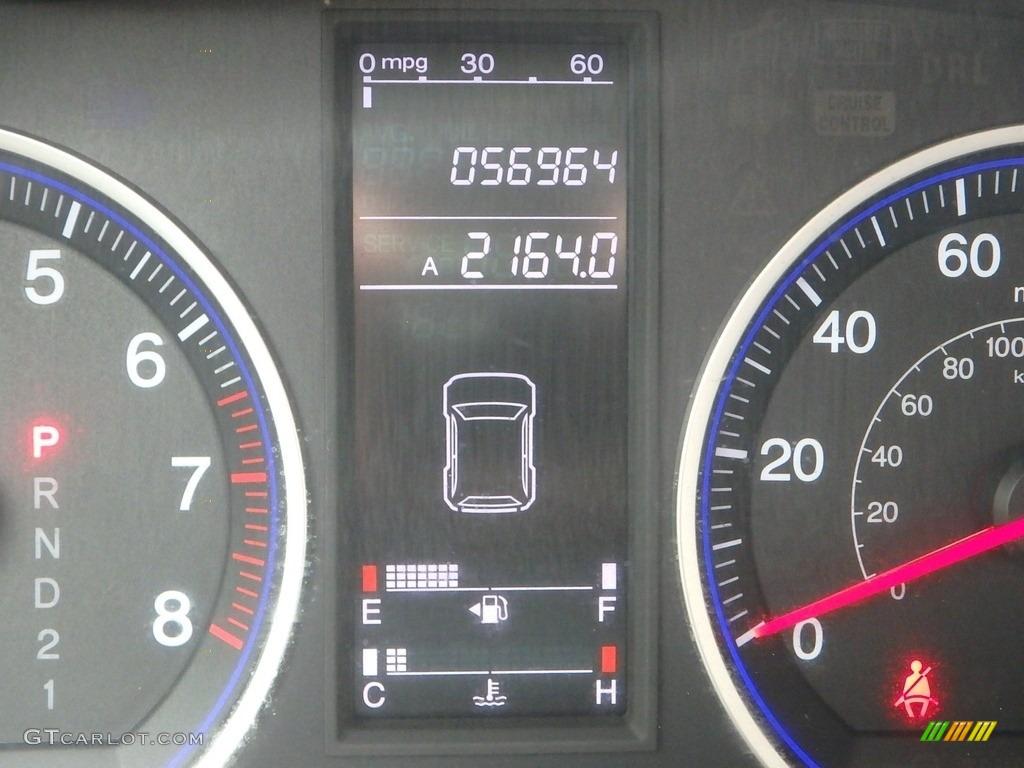 2009 CR-V LX 4WD - Glacier Blue Metallic / Gray photo #25