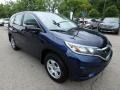 2015 Obsidian Blue Pearl Honda CR-V LX AWD  photo #8