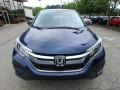 2015 Obsidian Blue Pearl Honda CR-V LX AWD  photo #9